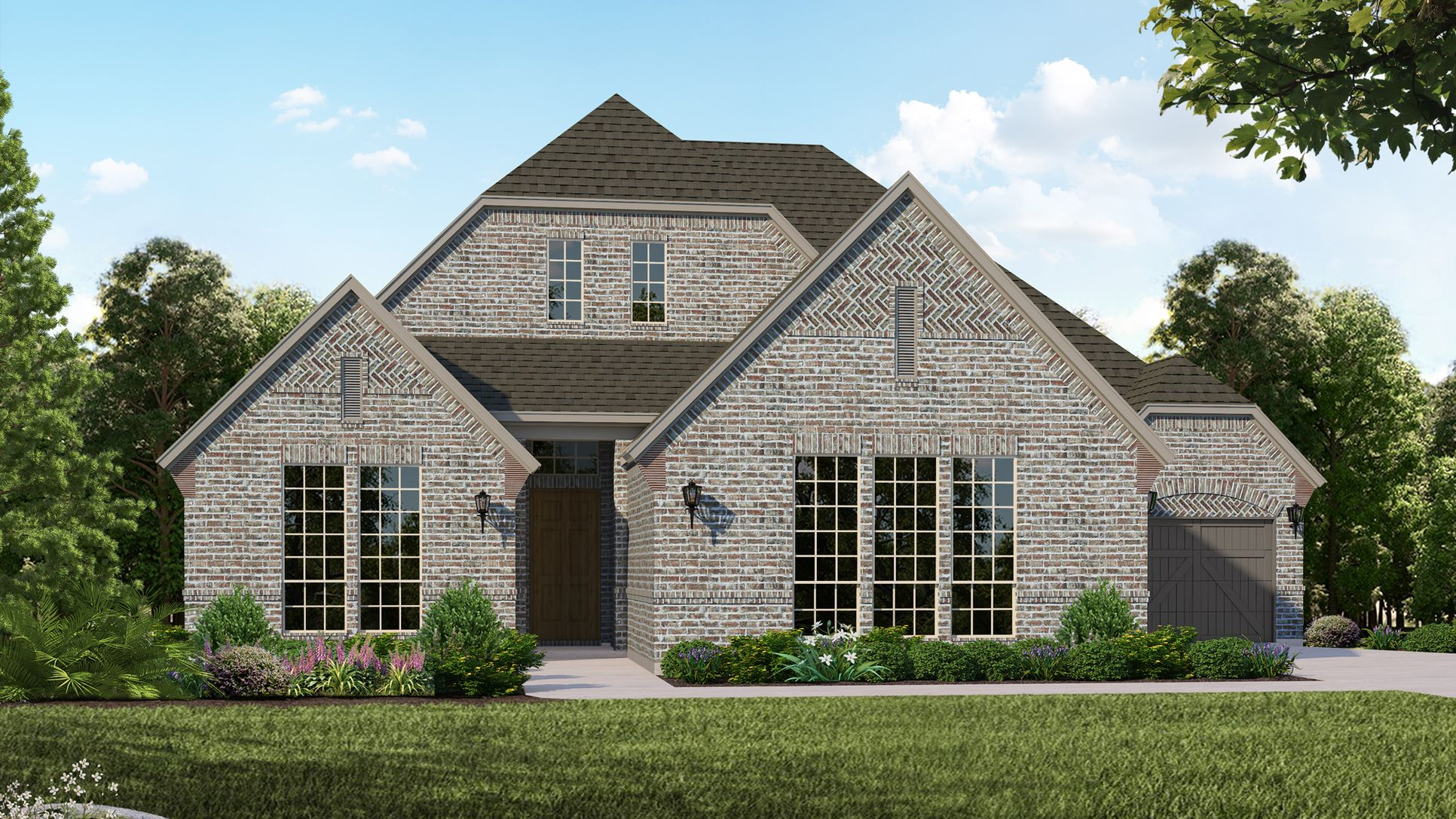 Exterior:Plan B815 Elevation A
