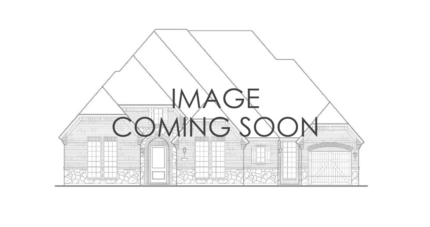 Exterior:7116 Canyon Elevation A w/ Stone