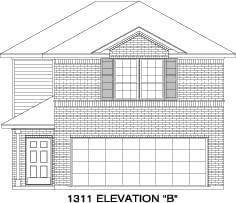 Exterior:Elevation B