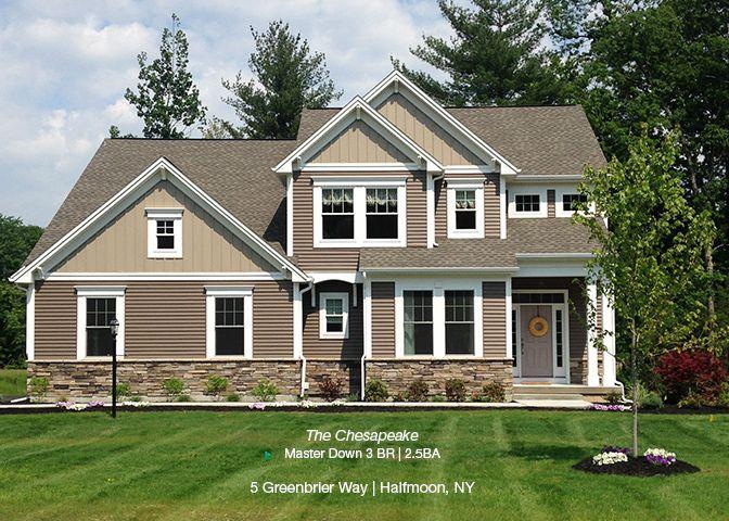 Chesapeake Model Home Front Elevation:Chesapeake Model Home - Exterior