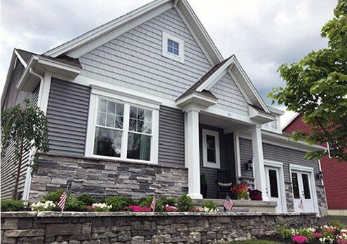 Griffin's Ridge Concord Model Home:Griffin's Ridge Concord 2 BR + Study, 2 BA Cozy Ranch