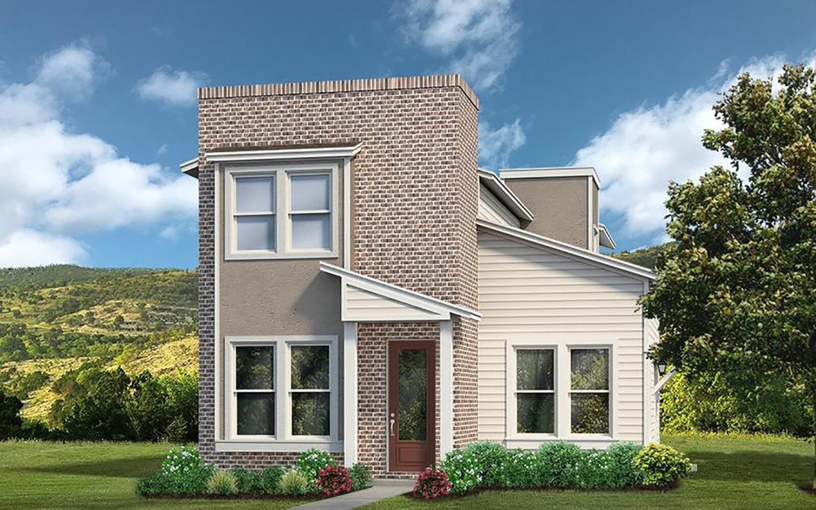 Exterior:floor plan brooklyn a union park austin texas