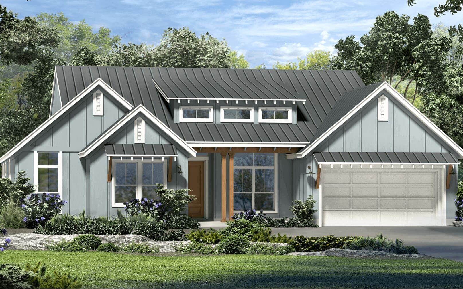 Exterior:floor plan vassar modern farmhouse kissing tree san marcos texas