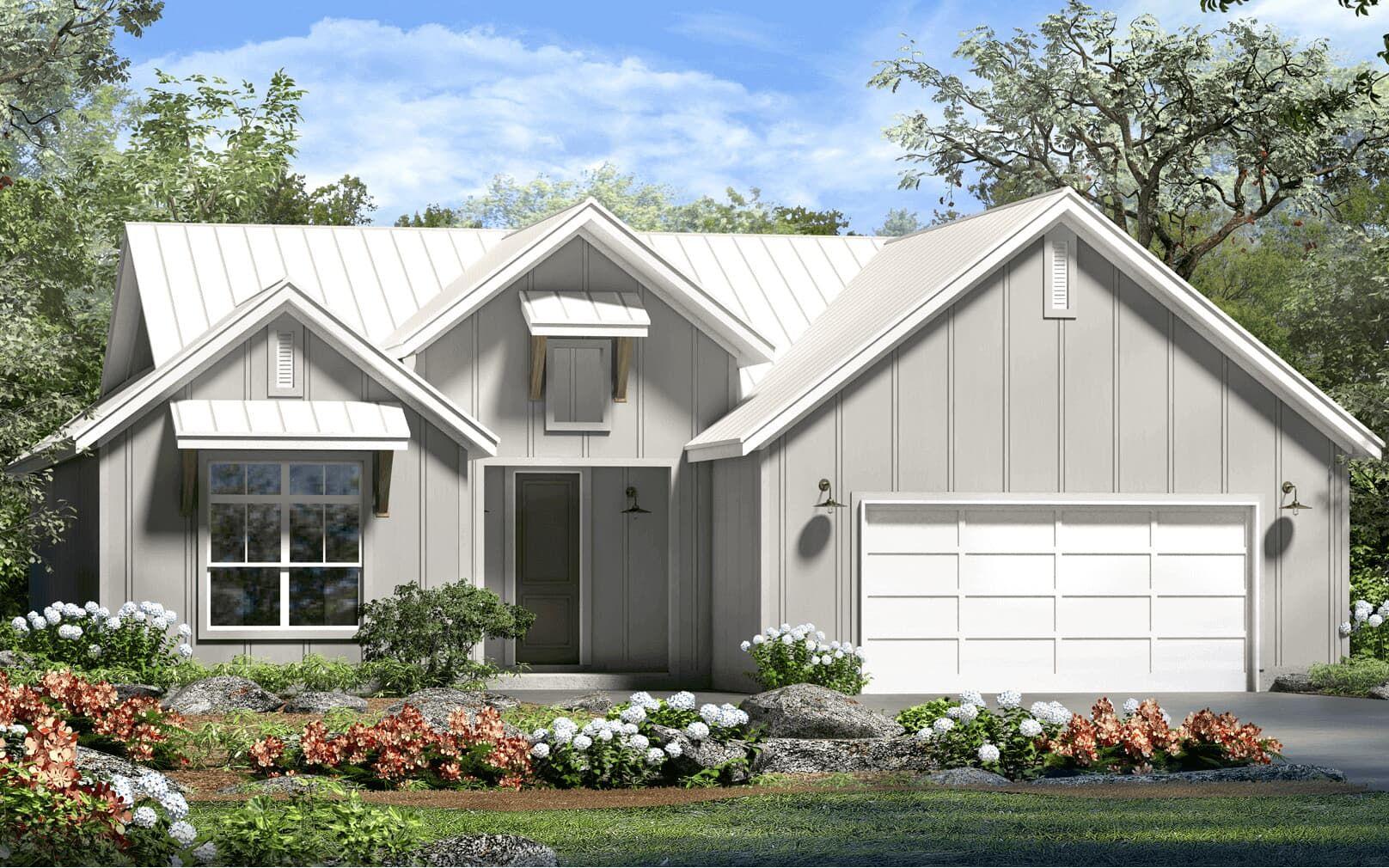 Exterior:floor plan wheaton modern farmhouse kissing tree san marcos texas