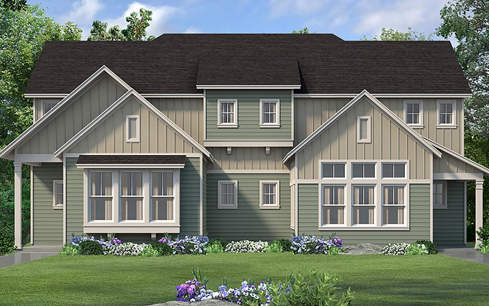 Exterior:floor plan tremont modern farmhouse