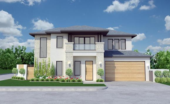 The Avalon Contemporary:Elevation