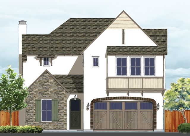 Residence 4:Elevation A