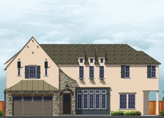 Residence 5:Elevation A