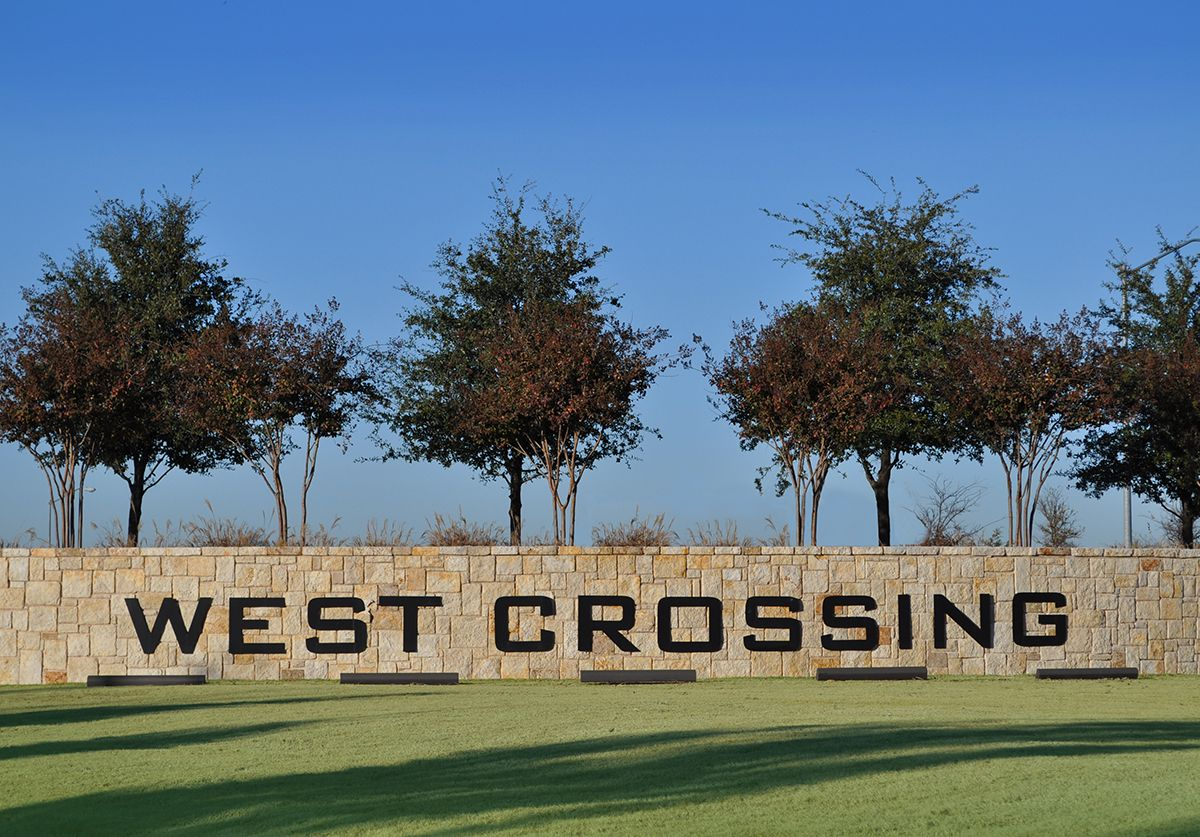 West Crossing Community Sign