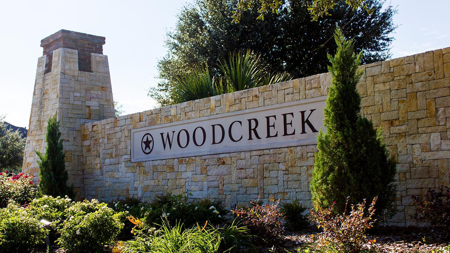 Woodcreek Community Sign