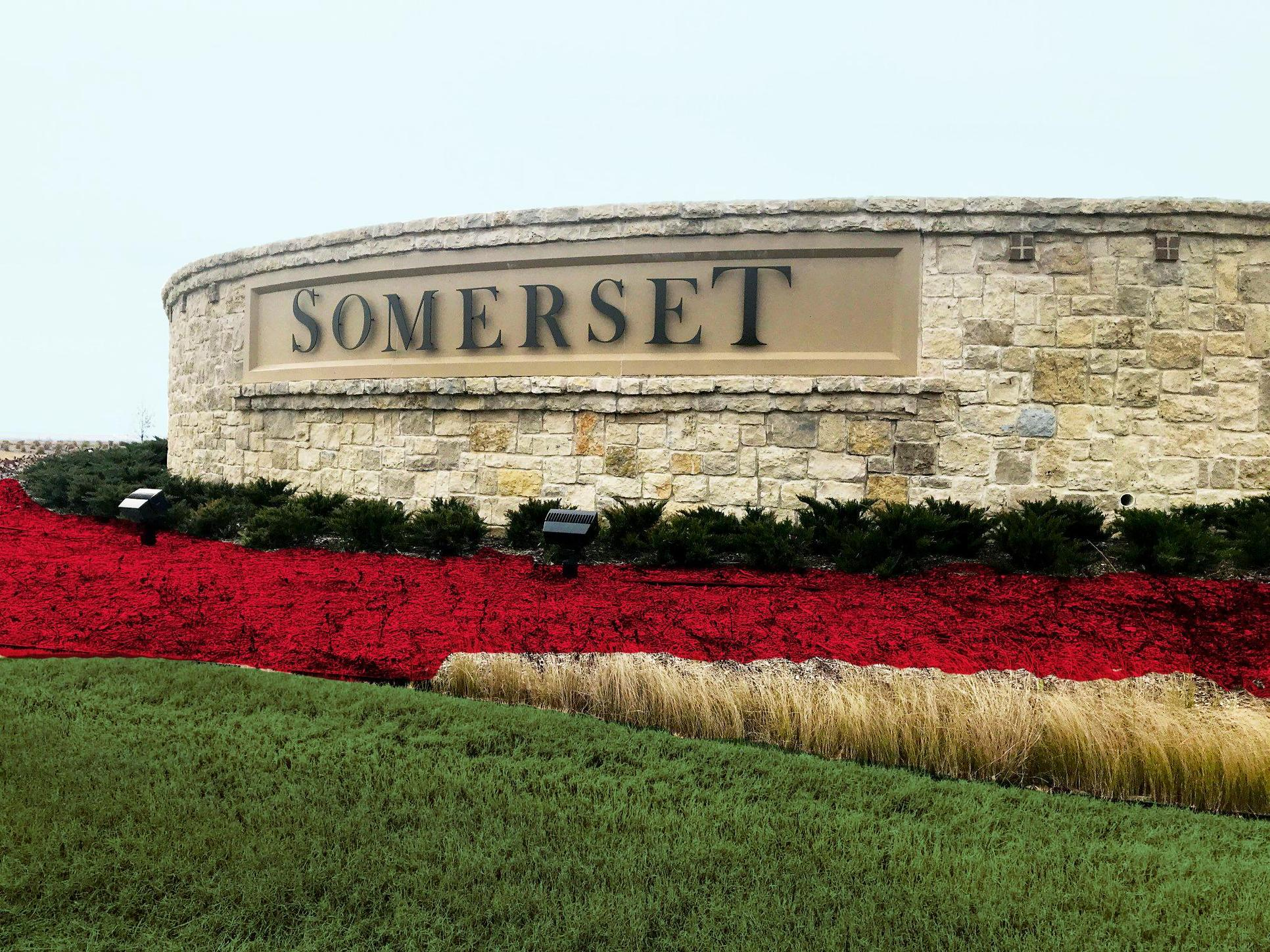 Somerset Community Sign
