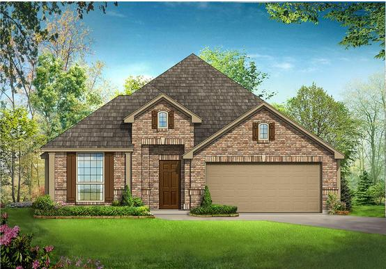 Cypress - Elevation B:Cypress - Elevation B