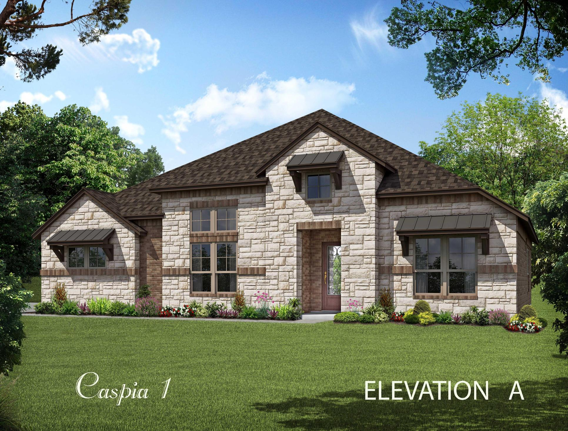 Caspia:Elevation A