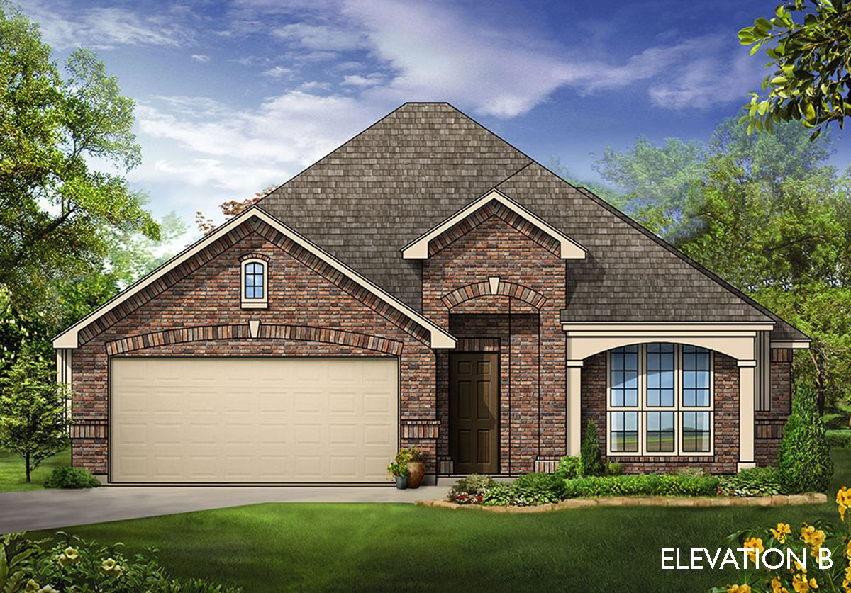 Bluebonnet - Elevation B:Elevation B