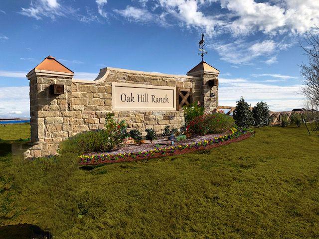 Oak Hill Ranch Sign:Oak Hill Ranch Sign