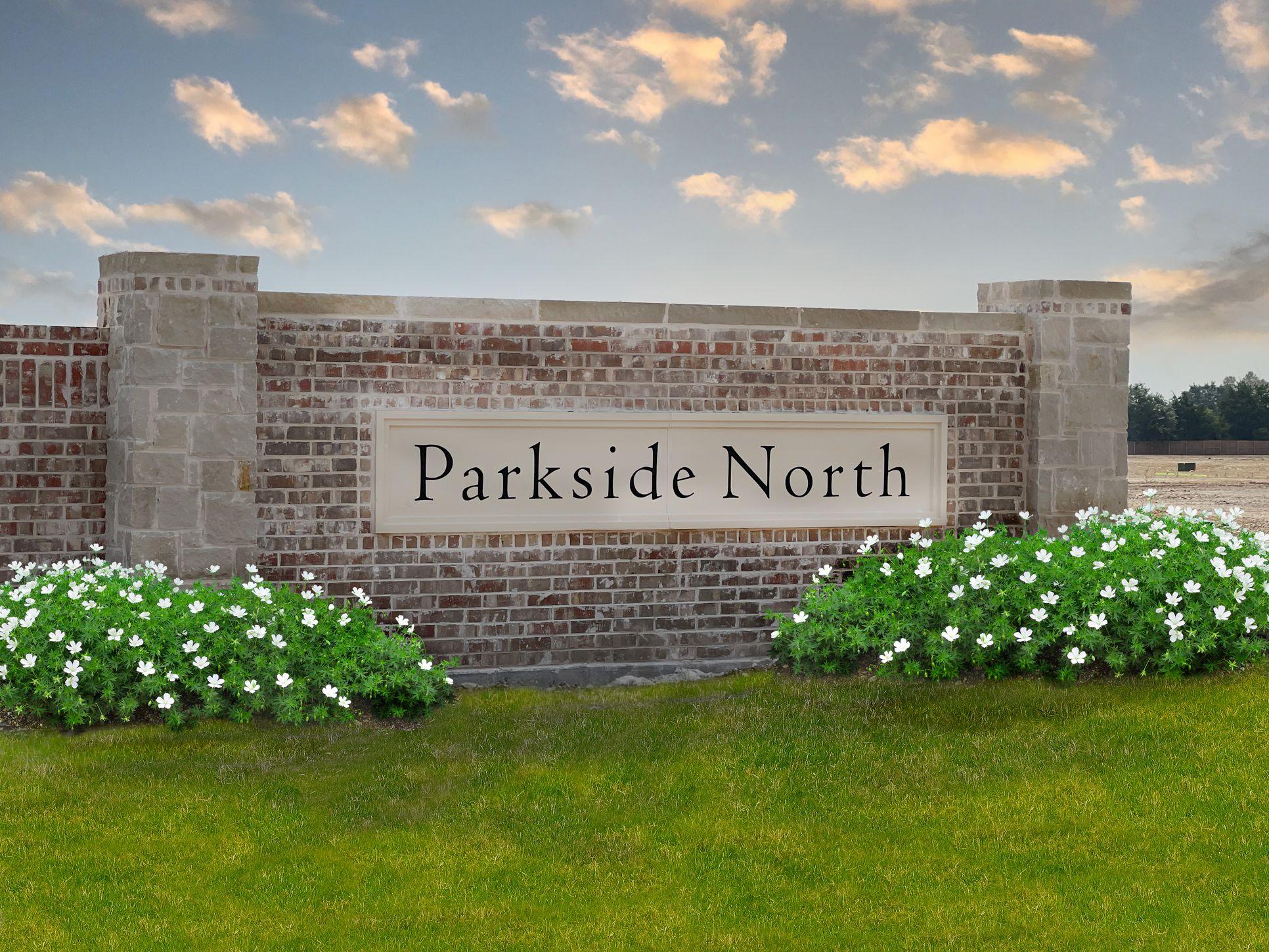 Parkside North Sign:Parkside North Landmark