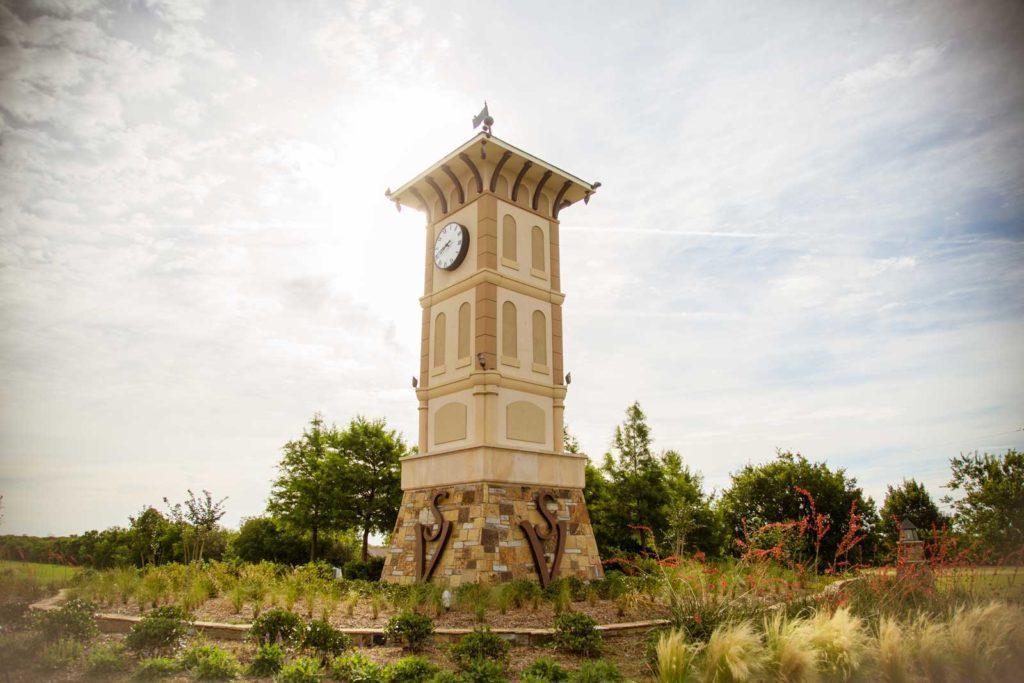 Sonoma Verde Clock Tower Turret