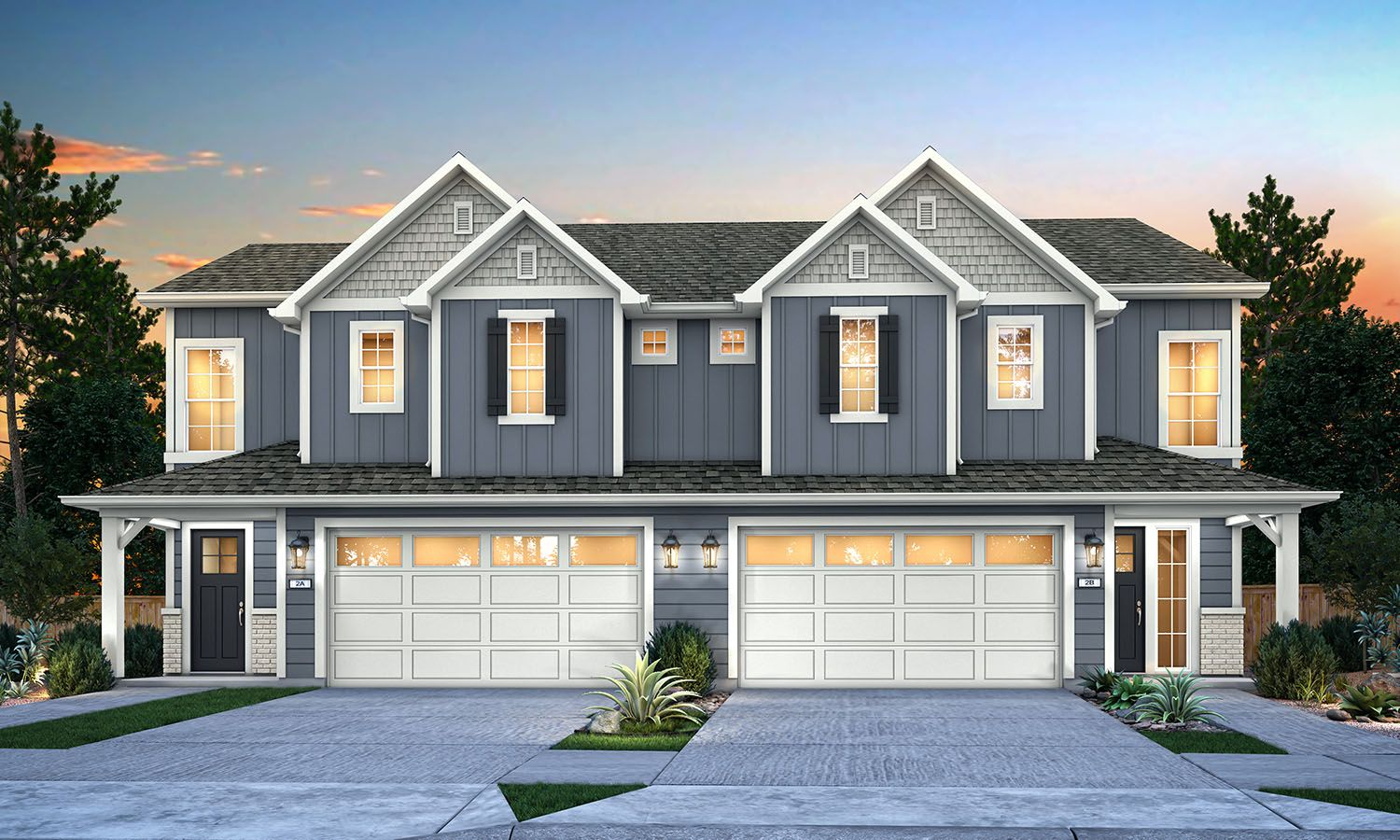 Lupine Rendering:Front View