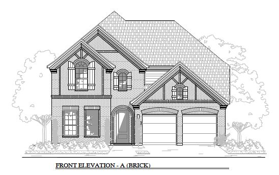 3490 Elevation A- Brick