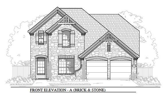 2985:Plan A (Brick & Stone)