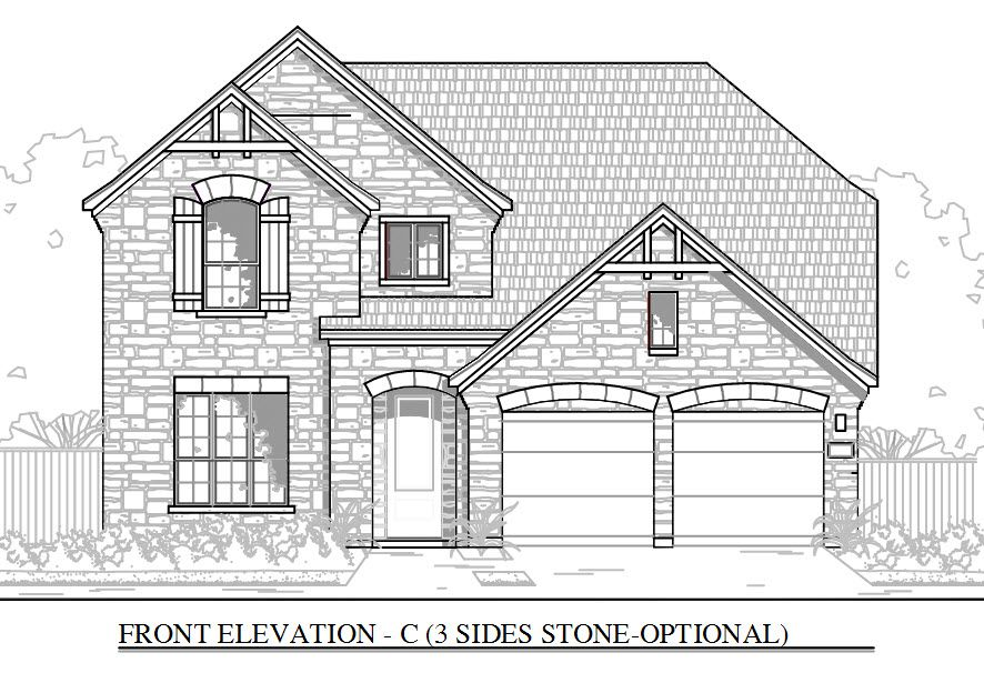 2512_C:3 Sides Stone - Optional