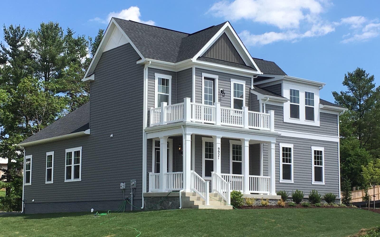 Exterior:exterior homesite 1006 ridgeview brookfield residential