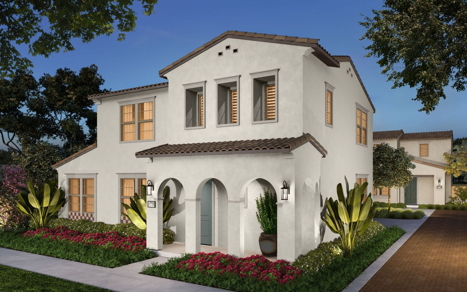 Exterior:Stella New Homes in Whittier The Groves