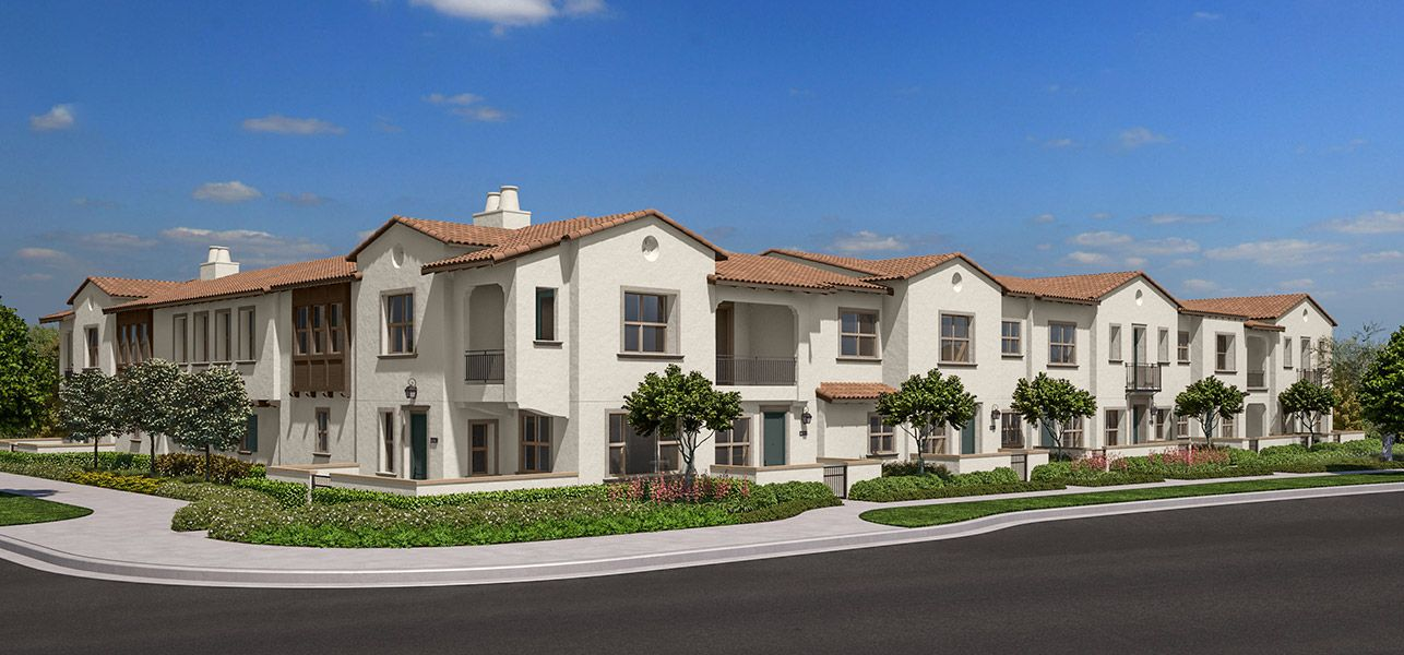 Exterior:Bayberry New Homes in Whittier CA Brookfield Residential
