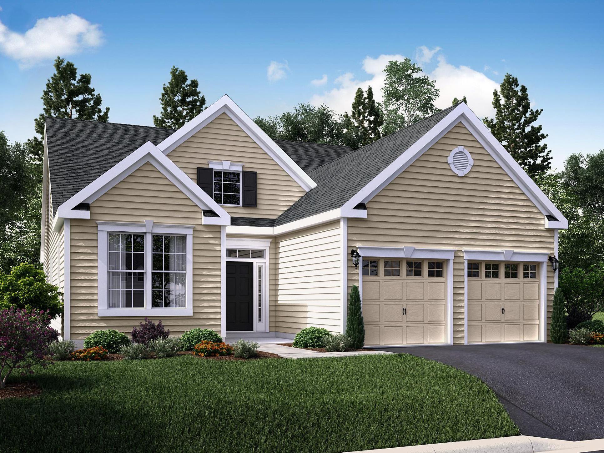 The Magnolia I :Cottage Elevation