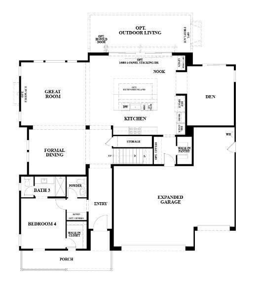 Residence 2:First Floor