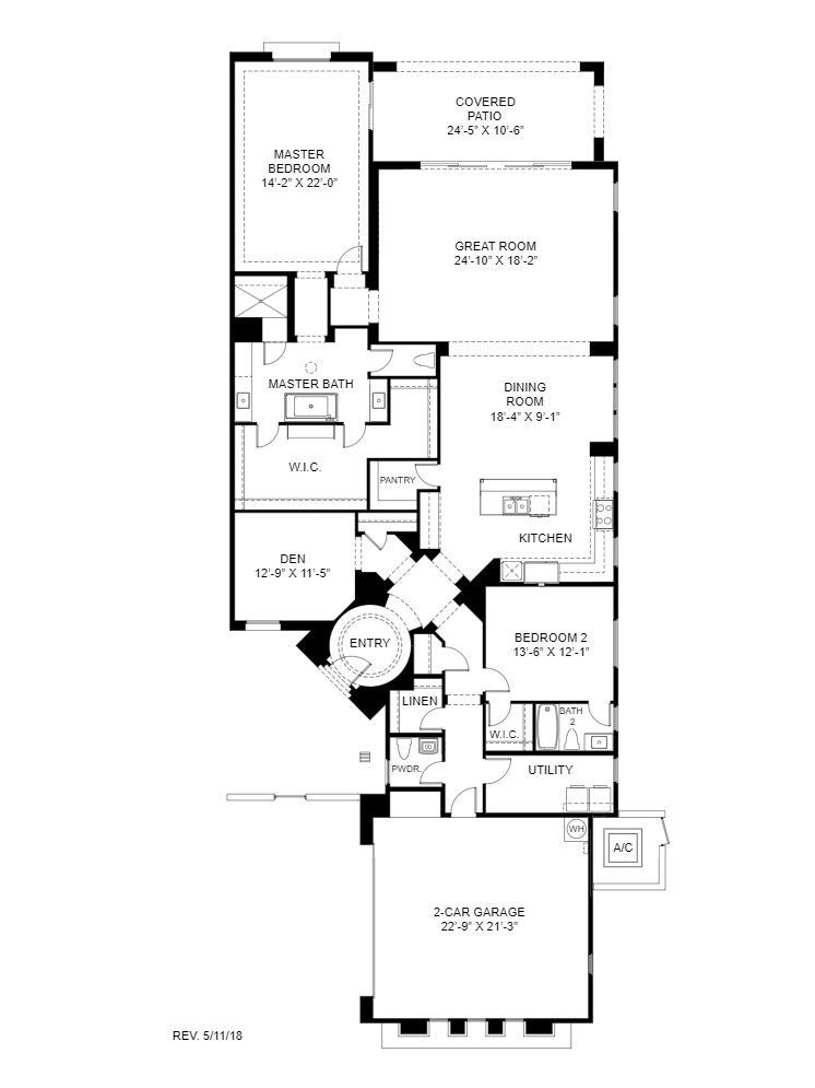 Cavallo:Floor Plan