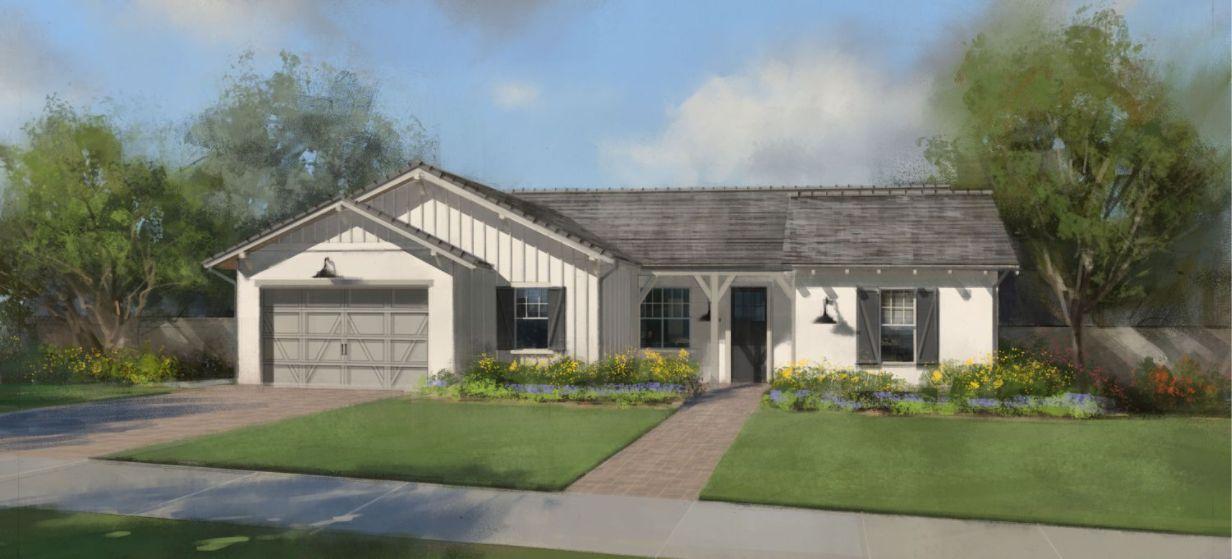 Plan 2- Heirloom at Morrison Ranch:Elevation