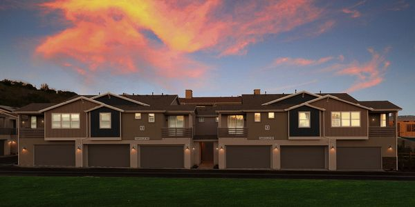 Exterior Elevation:2 story model
