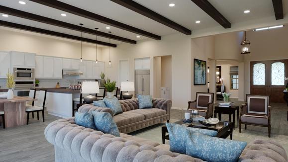 LaStancia Living Room with Beams:LaStancia Living Room with Beams