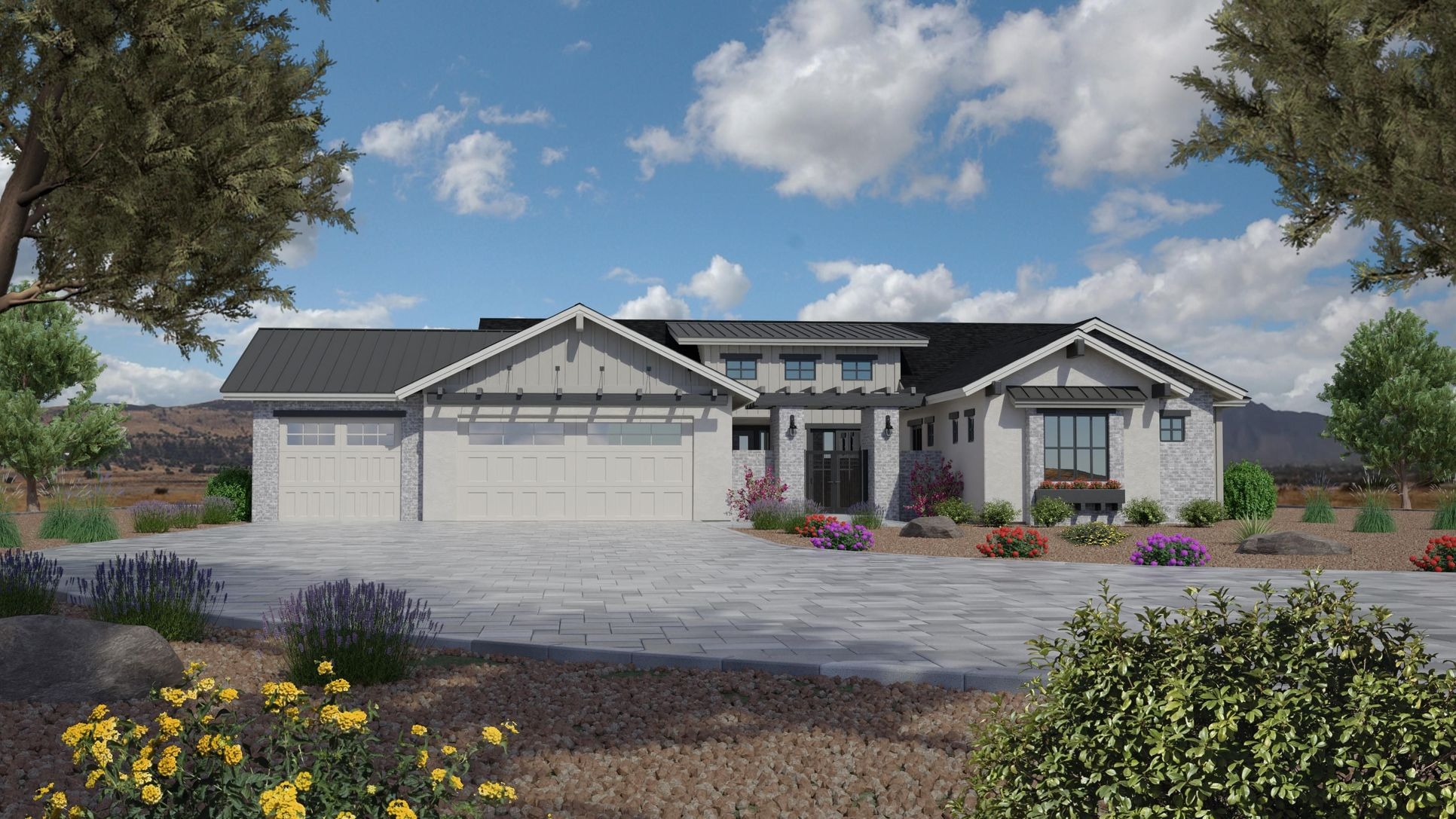 Jasper Plan 2672 - Farmhouse Elevation:Elevation