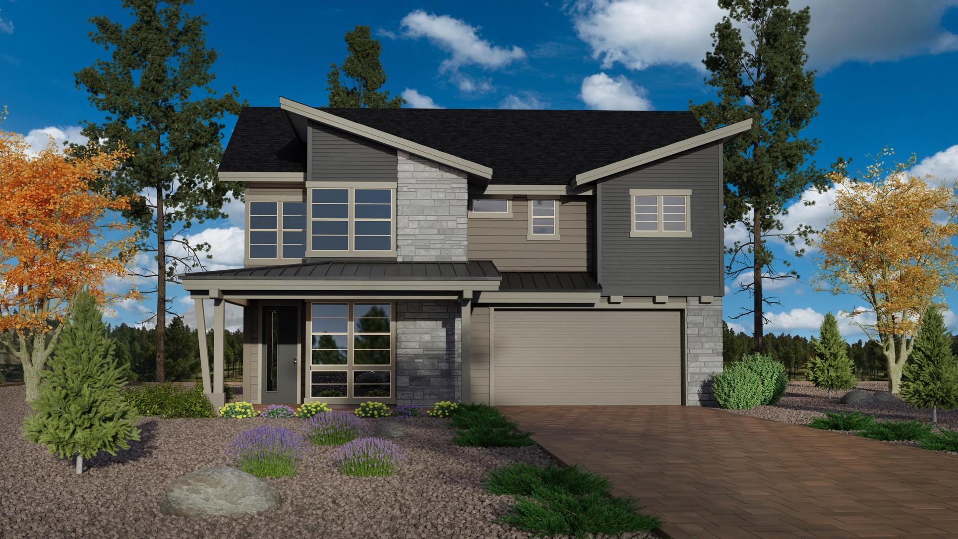 Timber Sky Plan 2443 Elevation C:Timber Sky Plan 2443 Elevation C