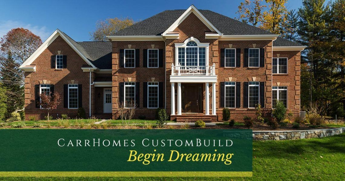 CarrHomes Custom Build:Loudoun