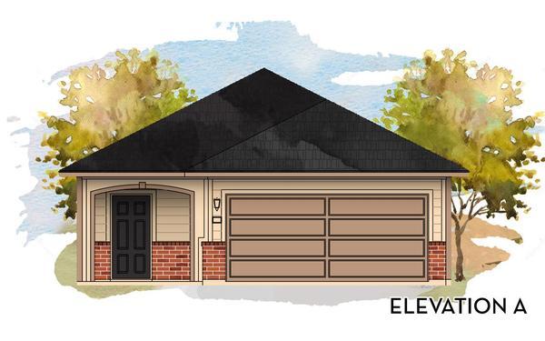 Oak Elevation A