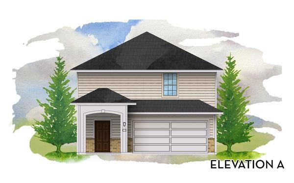 Cedar Elevation A