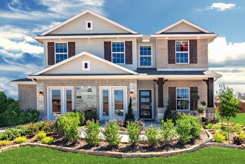 CastleRock at SaddleCreek:New Homes in Georgetown