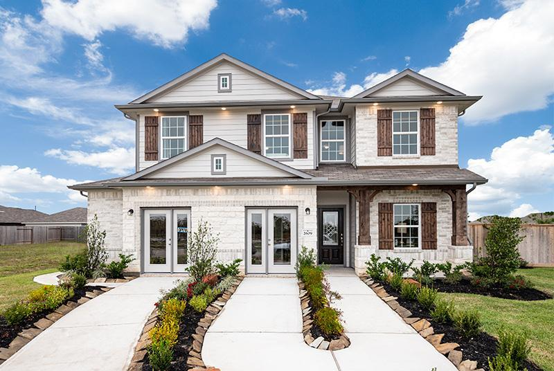 CastleRock Homes at Pearlbrook:New Homes in Texas City