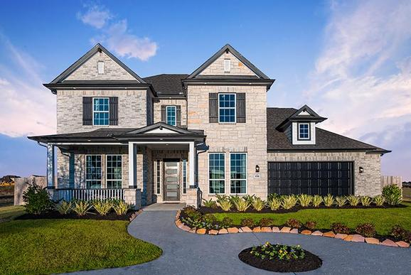 CastleRock at Reserve of Champions Estates:New Homes in Mount Belvieu