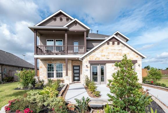 CastleRock at Lago Mar:New Homes in Texas City