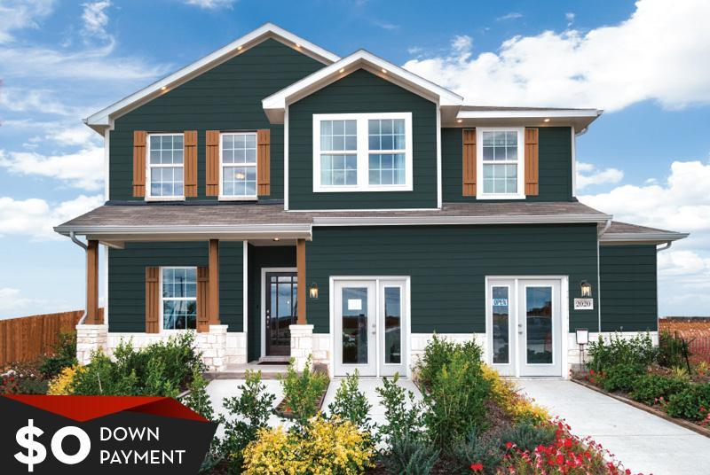 CastleRock Homes at Orchard Ridge:New Homes in Liberty Hill, TX
