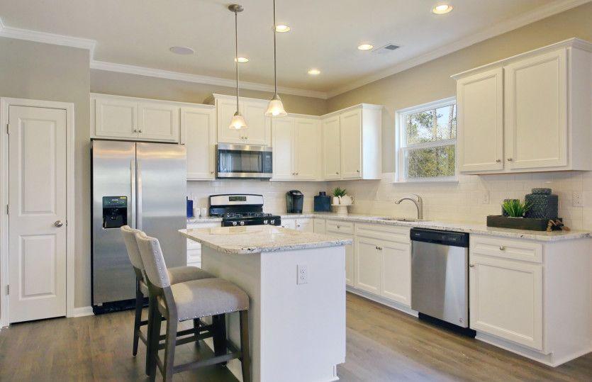 Interior:Model Representation - Kitchen