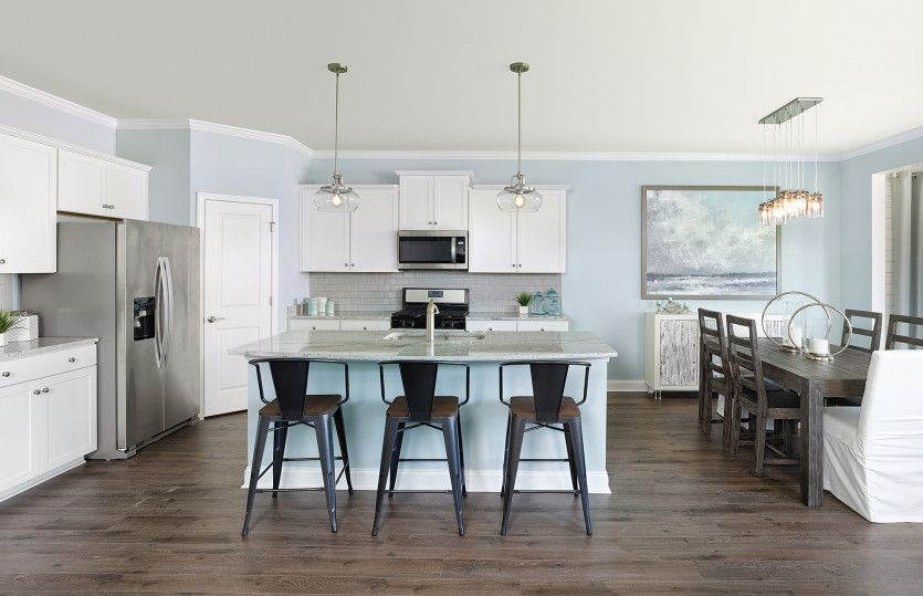 Hartwell:Model Representation - Open Kitchen