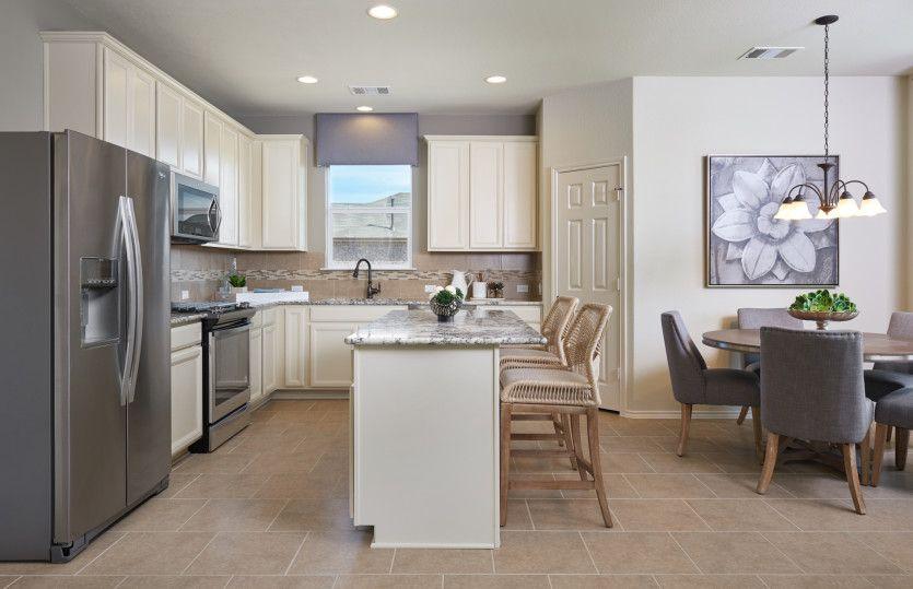 Sandalwood:Kitchen with Island