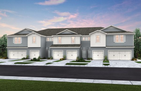 Townhome Exterior Rendering