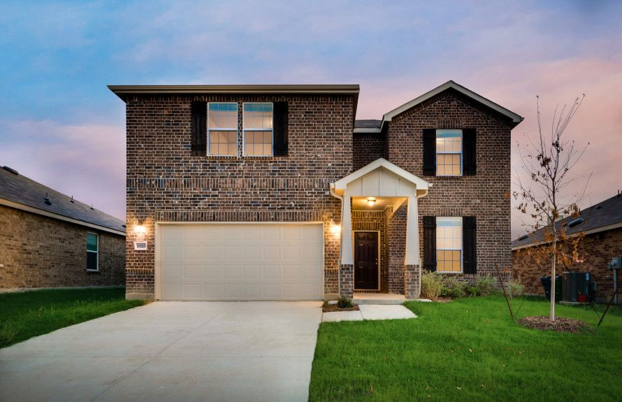 New Homes in Aubrey, Texas