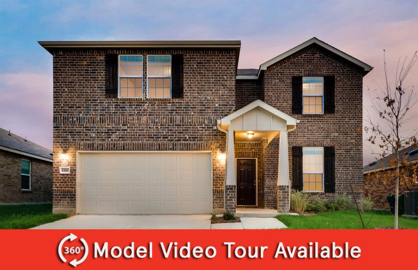 Stockdale:The Stockdale, a two-story home with 2-car garage, shown with Home Exterior O